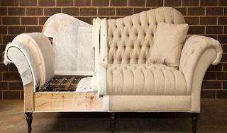 Kain sofa baru