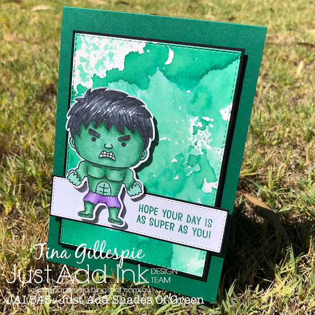 scissorspapercard, Stampin' Up!, Kindred Stamps, Ink Road Stamps, Just Add Ink, You're Super, Justice Is Served, Full Circle Vol 3: Heroes, Stampin' Blends