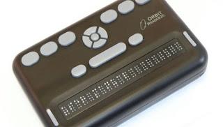 """Brailio eilutės """"Orbit Reader 20"""" nuotrauka"""