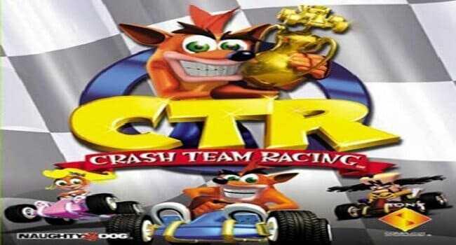 تحميل لعبة كراش سباق القديمة الاصلية للكمبيوتر والاندرويد Crash Team Racing