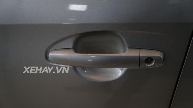 vios 15e cvt 3 - Cận cảnh Toyota Vios 1.5E CVT mới ra mắt Việt Nam