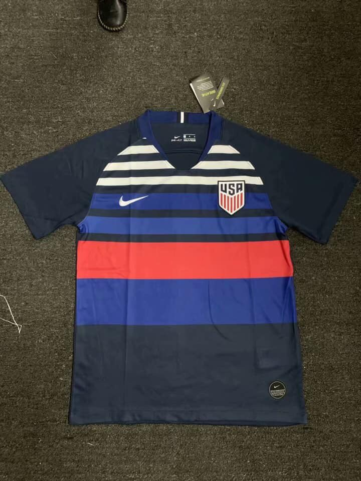 online store af3c8 f5246 99% A Fake - Nike USA 2019 Gold Cup Home Kit Leaked? - Footy ...