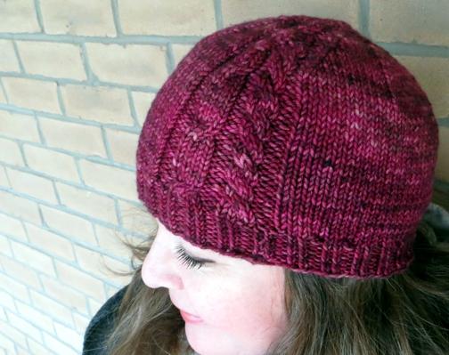 Best Friends Beanie: a free knitting pattern