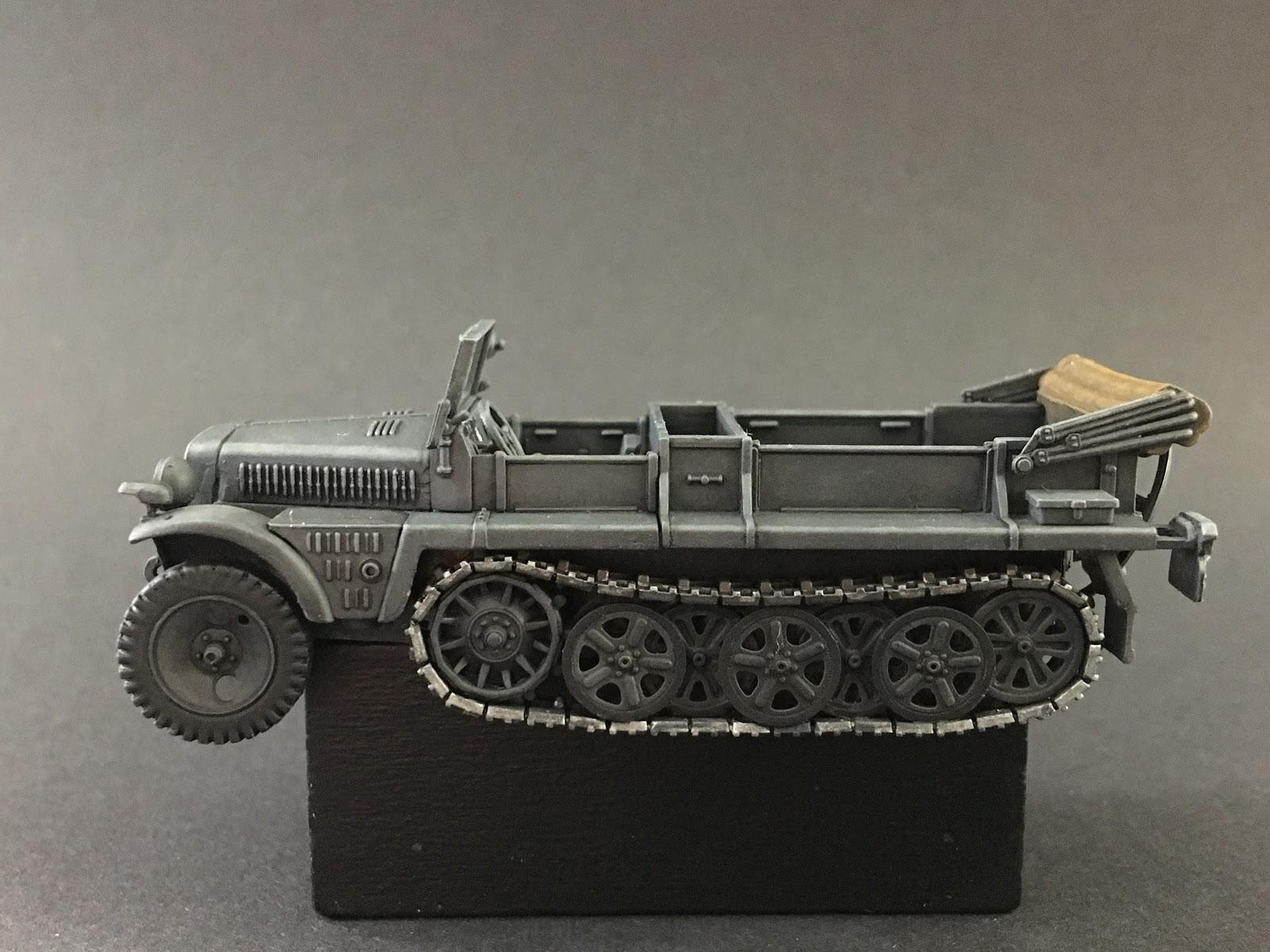 NEU! Special Hobby 1:72 72021 Sd.kfz.10 Zugkraftwagen 1t Demag D7