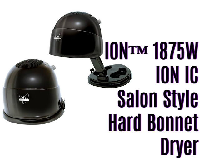 Click here to buy the ION™ 1875W ION™ IC Salon Style Hard Bonnet Dryer for your perfect drying of your natural hair