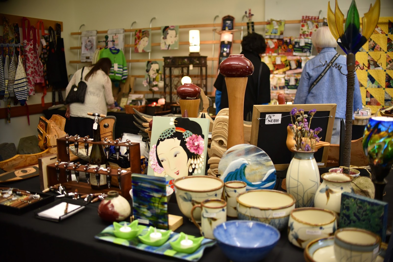 Shoreline Area News Arts Crafts Sale In Richmond Beach