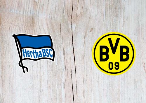 Hertha BSC vs Borussia Dortmund -Highlights 21 November 2020
