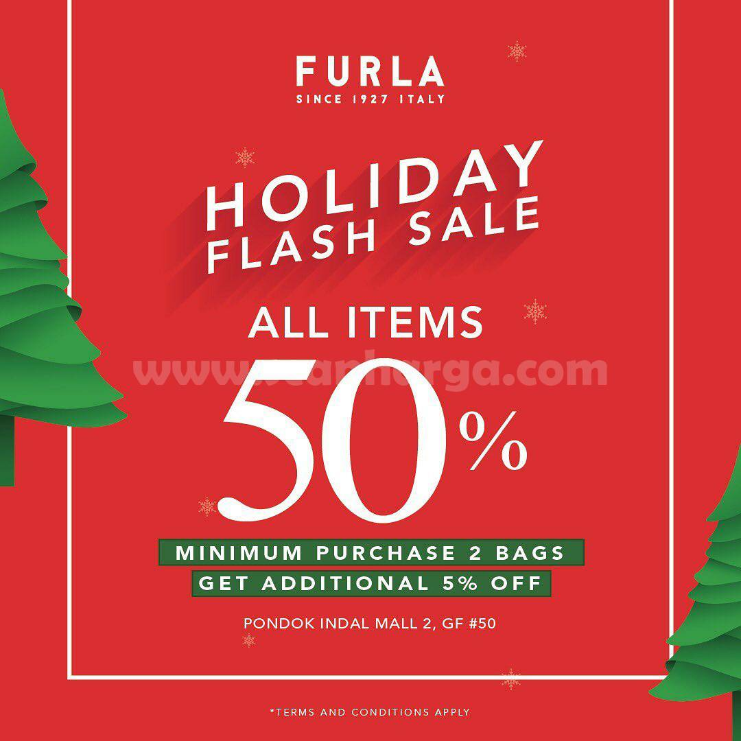 Furla Promo Holiday Flash Sale up to 50%  Off