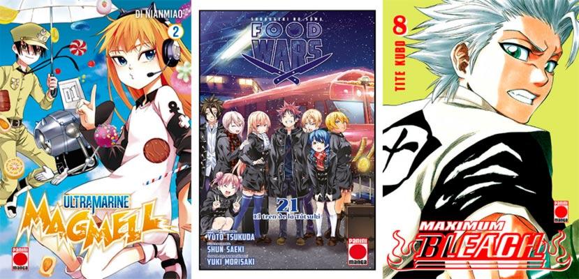 Novedades Panini Comics septiembre 2019 - manga shonen