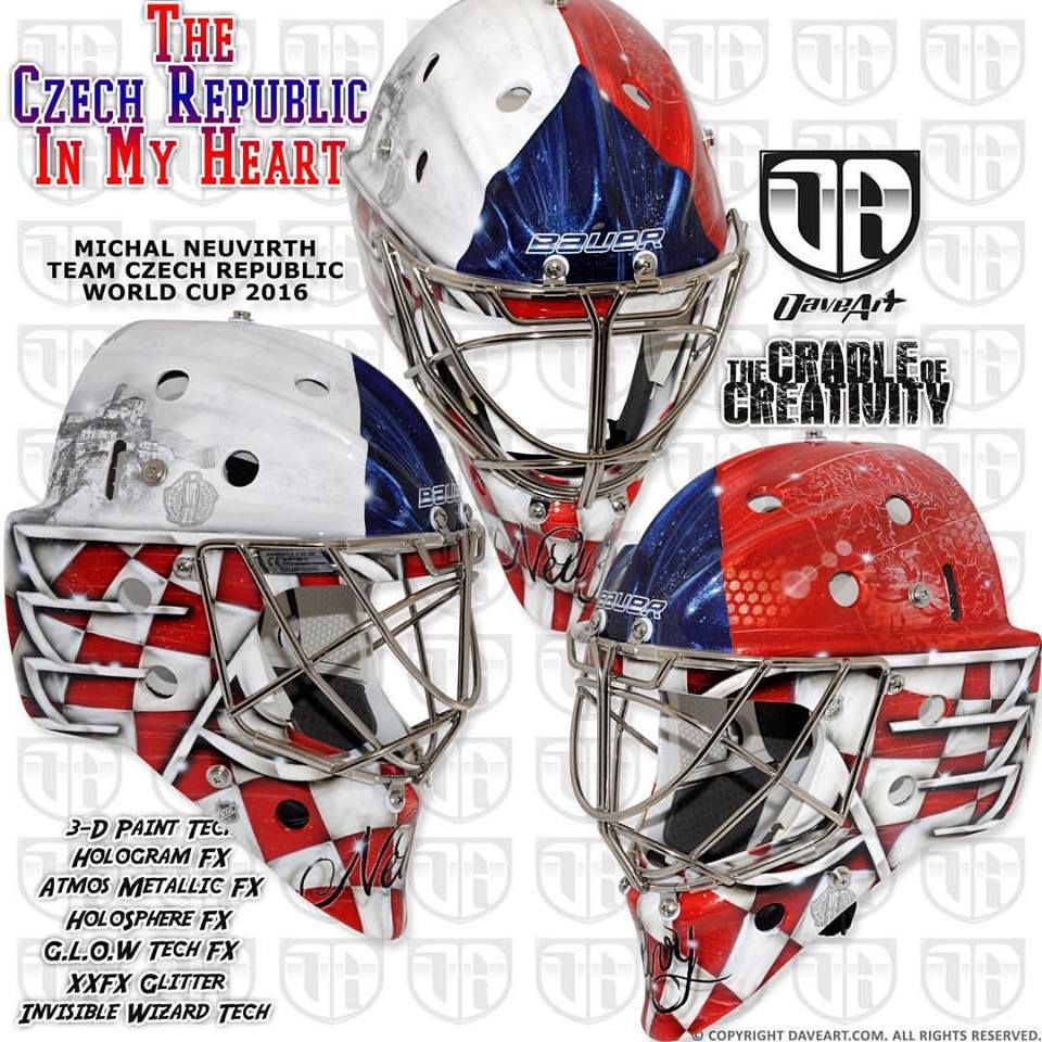 i love goalies world cup of hockey masks as of august 23 2016