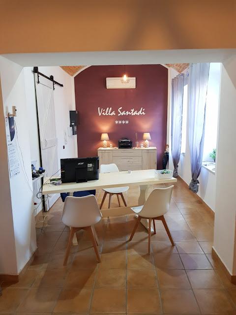 Hotel Villa Santadi-Reception