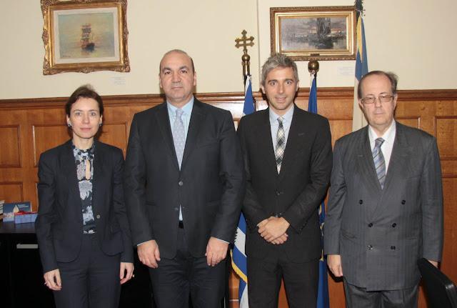 Το αμερικανικό επενδυτικό ενδιαφέρον για την Ελλάδα στο επίκεντρο της συνάντησης Γ. Μασούτη - B. Hoyt