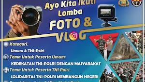 Ayo Buruan Ikut, Polres Tebo Gelar Lomba Foto dan Vlog Berhadiah Puluhan Juta Rupiah