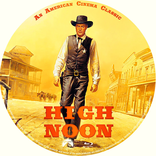 High Noon (1952) Bluray Label