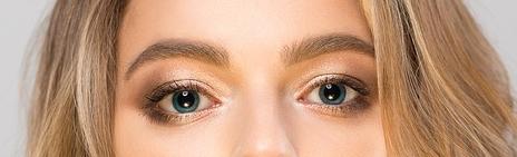 sombreado de ojos azules