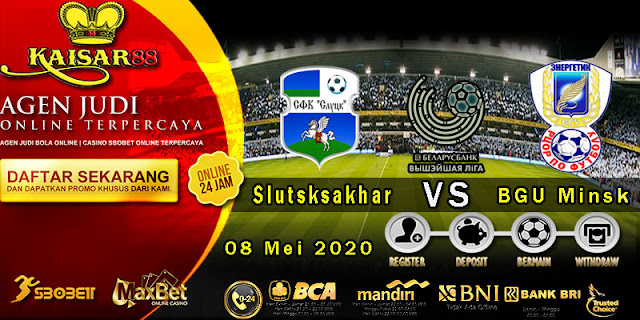 Prediksi Bola Terpercaya Liga Belarus Premier FC Slutsk vs Energetik-BGU Minsk 8 Mei 2020