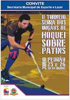 II Torneio de Hóquei Sobre Patins dias 25 e 26/06/16 em Teresópolis