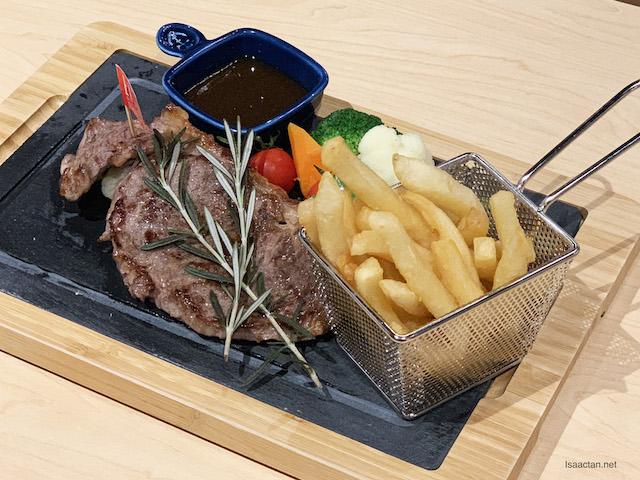 Australian Beef Striploin - RM37.80