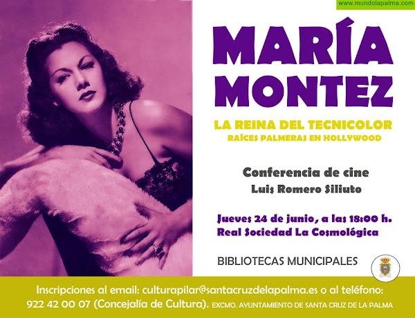 """Conferencia """"María Montez, La Reina del Tecnicolor"""". Raíces Palmeras en Hollywood"""