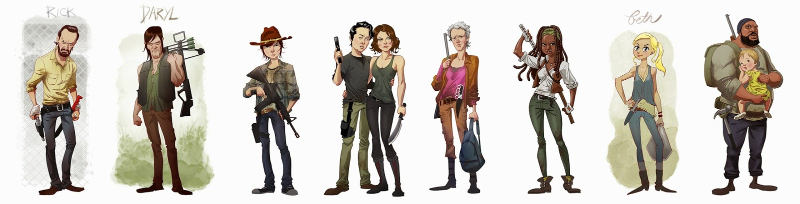 The Walking Dead (by Edward Pun)