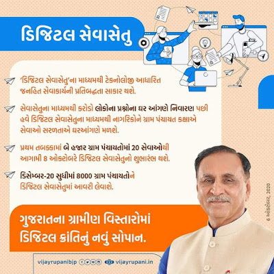 Digital Gujarat Online Services At Village