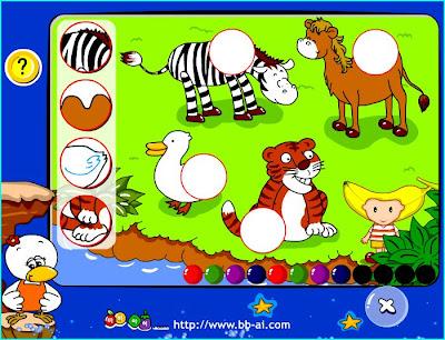 Juegos Educativos Para Ninos De 3 A 5 Anos Juego De Completar