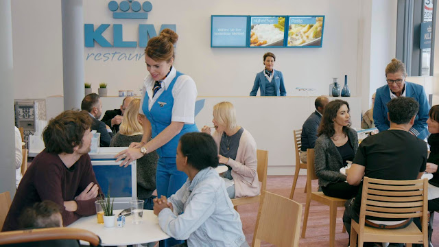 KLM Turned into a Restaurant, a Bank and a Radio Station to Let Germany Know They are an Airline