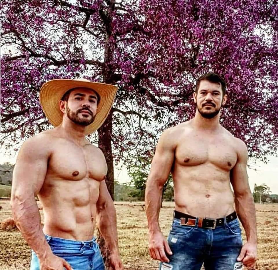 hombres del campo