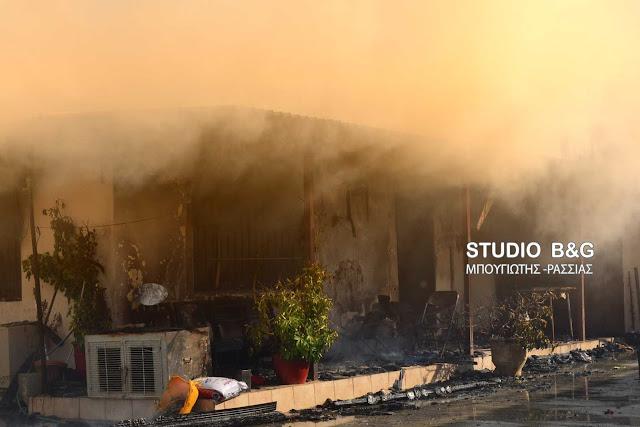 Αργολίδα: Σπίτι κάηκε ολοσχερώς στο Αργος