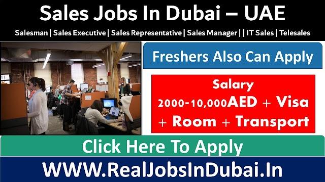 Sales Jobs In Dubai, Abu Dhabi , Sharjah & All Over Uae 2021