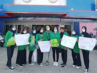 Mahasiswa UNU Kalbar Edukasi Warga Belanja Tanpa Kantong Plastik