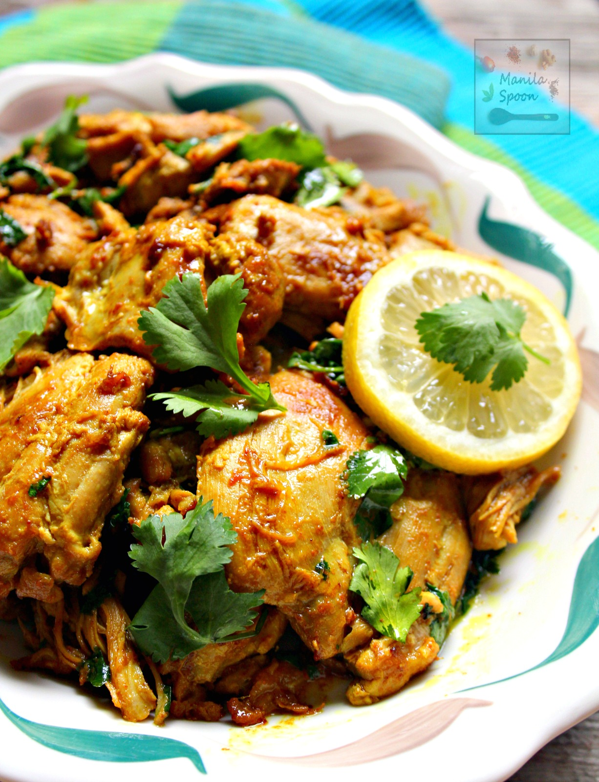 Lemon Cilantro (or Coriander) Chicken