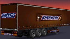 Snickers Profiliner trailer skin