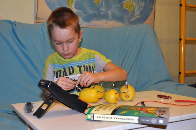 Добываем электричество из лимонов