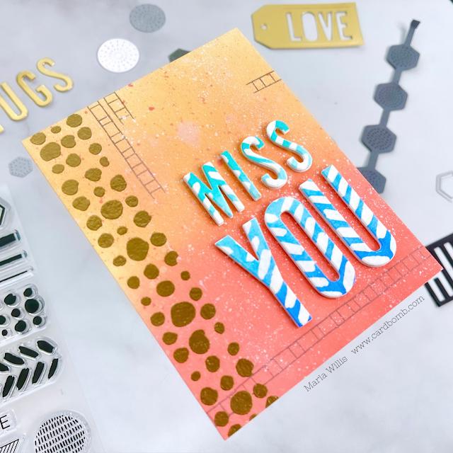 Cardbomb,maria willis,Tonic Studios,Tonic Studios Stamp Club,stamps,stamping,cards,cardmaking,