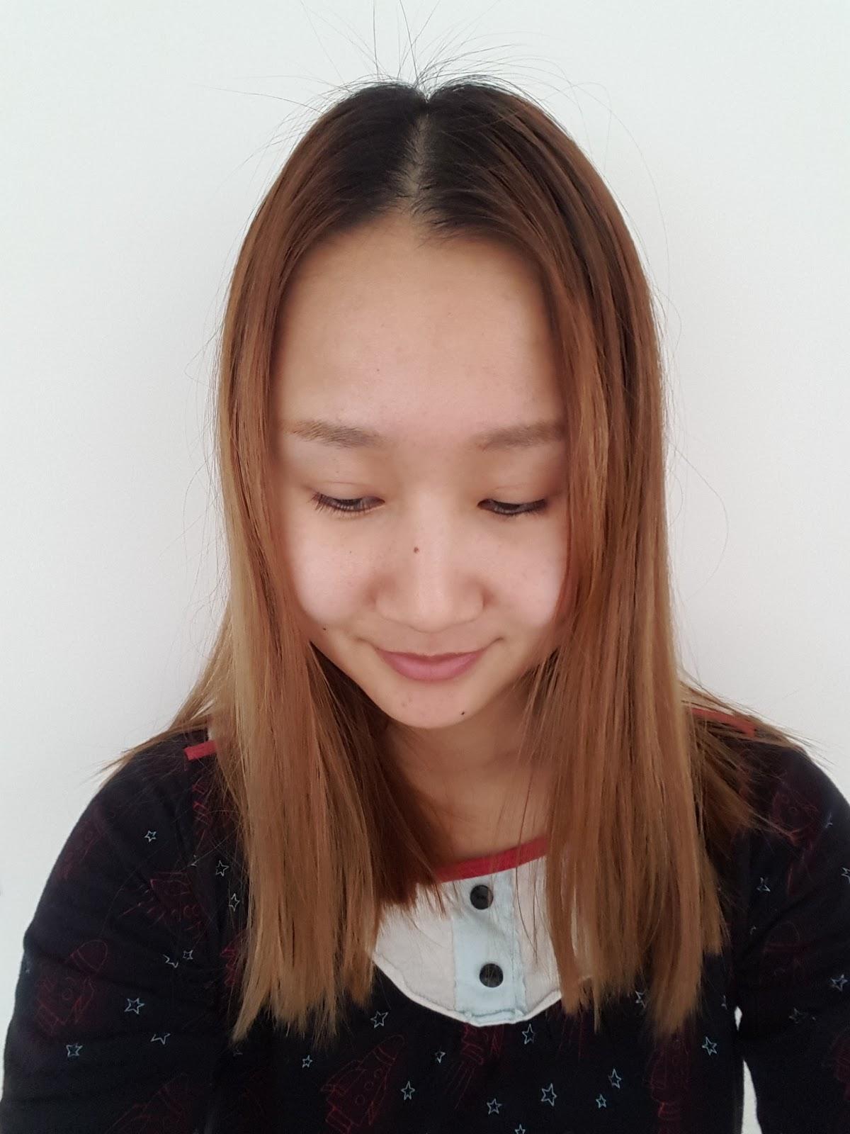 Dyeing Asian Hair Roots Using LOreal Feria Hair Colour - Hair colour asian
