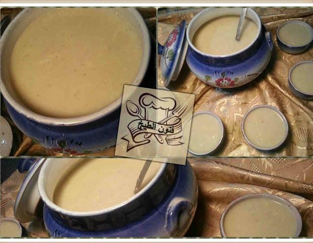 حساء السميد,حسوة بالسميدة, حريرة السميدة, الحريرة البيضة
