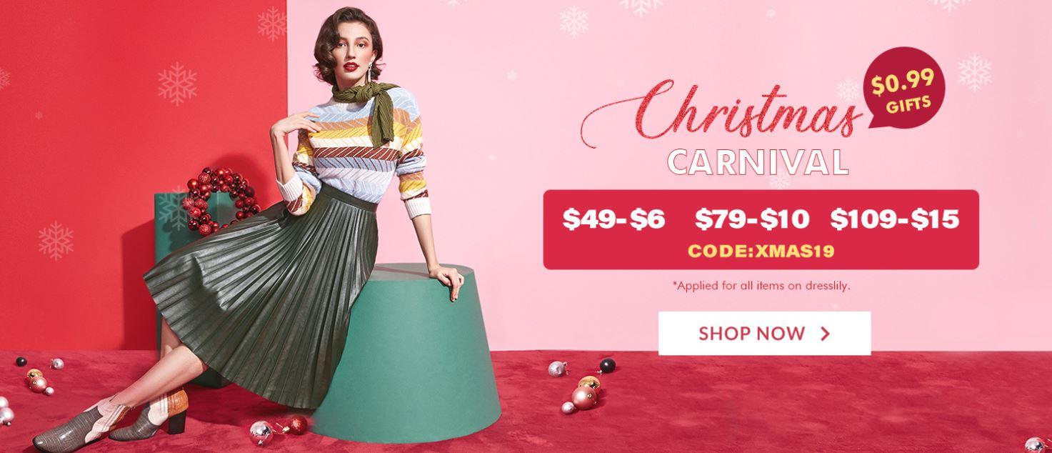 Christmas Shopping Spree, dresslily