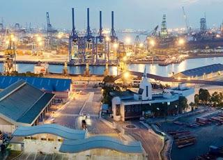 Pelabuhan Jurong Singapore - MENGENAL PELABUHAN DI SINGAPURA