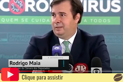 Rodrigo Maia sobre Weintraub no Banco Mundial. Café com Jornalista