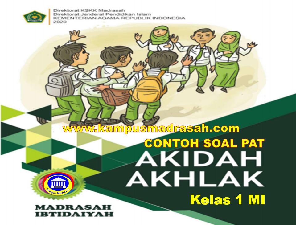 Soal PAT Akidah Akhlak Semester 2