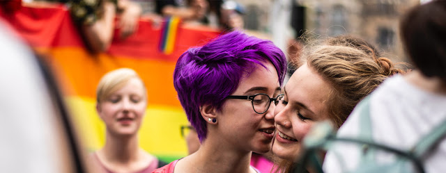 Un acto de la comunidad LGBTI en Berlín.