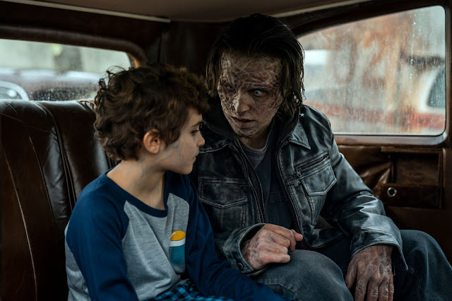 Jason David is Wayne McQueen and Dalton Harrod is Craig  | NOS4A2 Cripple Creek | season two episode seven