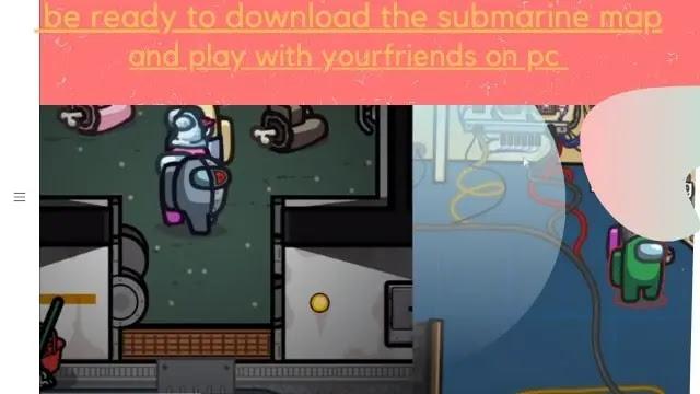 Among Us Submarine map