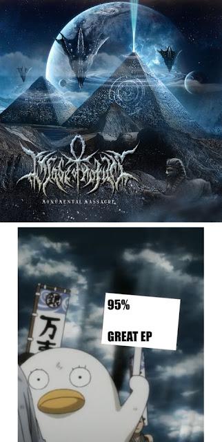 Blade of Horus Monumental Massacre EP Reviews by BDP Metal, Blade of Horus Monumental Massacre Reviews