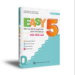 EASY 5 - Sách luyện thi THPT Quốc gia môn Tiếng Anh - Tiếng Anh là chuyện nhỏ - NXB Đại học Quốc gia Hà Nội - 2020 ebook PDF-EPUB-AWZ3-PRC-MOBI