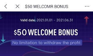 Bonus Forex Tanpa Deposit UBFX (Eagle Markets) $50