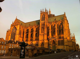 My Travel Background : Les trésors de la Lorraine (je vous emmène en Lorraine) - Cathédrale de Metz