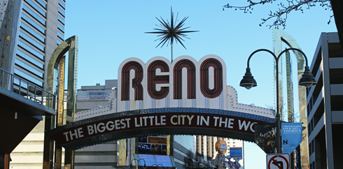 Downtown Reno Nevada