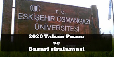 Osmangazi Üniversitesi taban puanı